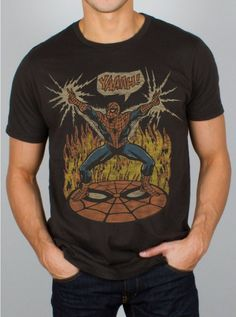 Spiderman Yaaah T-Shirt - Superhero T-Shirt