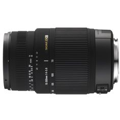 Sigma 70-300mm F/4-5.6 DG OS SLD Super Multi-Layer Coated Telephoto Lens for Nikon Auto Focus Mount Digital SLR Cameras Sigma