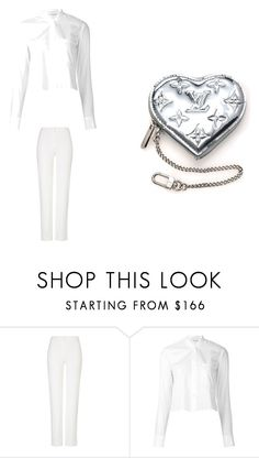 """""""Untitled #21"""" by begajeta1972 ❤ liked on Polyvore featuring ESCADA, Helmut Lang and Louis Vuitton"""