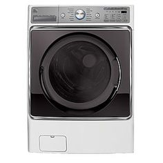 Kenmore Elite -5.2 cu. ft. Front-Load Washer - White ENERGY STAR®
