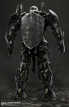Transformers The Last Knight Concepts - The Knights of Iacon, Furio Tedeschi Transformers 5 Movie, Transformers Cybertron, Armor Concept, Concept Art, Samurai Concept, Game Character Design, Character Art, Iron Man Wallpaper, Last Knights