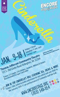 Encore Stage & Studio presents 'Cinderella' Jan 9-18