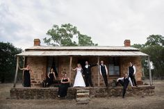 Renate & Trevor 21/2/15, First wedding photo since the verandah has had it's face lift. Joanne Marie Photography
