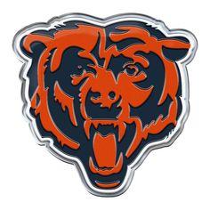 Chicago Bears Auto Emblem Color Alternate Logo