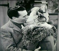 Ricky & Lucy kissing