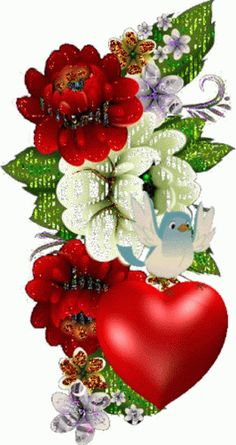 Beautiful Love Pictures, Beautiful Gif, Beautiful Roses, Beautiful Wallpaper For Phone, Beautiful Flowers Wallpapers, Gif Bonito, Happy Birthday Greetings Friends, Good Morning Flowers Gif, Beau Gif