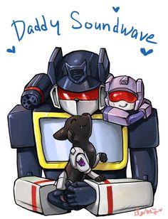 Daddy Soundwave ilu by Kikane.deviantart.com on @deviantART
