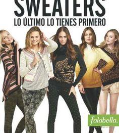 Catalogo saga falabella sweaters junio 2013