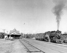 Old Canadian Train Stations, Western Canada, Manitoba, Saskatchewan and Alberta Victoria Beach, Canadian National Railway, Saskatchewan Canada, Old Gas Stations, Western Canada, Steam Engine, Steam Locomotive, Train Station, Unity