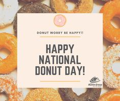 Hip Hip Hooray! It's National Donut Day!!🍩 🍩 A sweet way to start the weekend 😍🥳 What is your favourite donut? #onthemove #mullingroup #nationaldonutday #donut National Donut Day, Hip Hip, Donuts, No Worries, How To Get, Sweet, Frost Donuts, Candy, Beignets