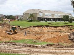 53 new sinkholes in Marion | Ocala.com - in wake of Tropical Storm Debby's massive rains - Foundation Services of Central Florida, Ocala, FL called to the rescue!