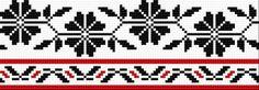 Embroidery pattern of the folk costume from Opoczno, Poland. Folk Embroidery, Cross Stitch Embroidery, Embroidery Patterns, Cross Stitch Patterns, Crochet Patterns, Loom Flowers, Folk Print, Cross Stitch Boards, Folk Costume