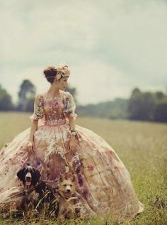 Karlina Caune / Boo George / Vogue UK October 2012 / 'New Pastures' Dolce & Gabbana Alta Moda winter 2012 Vogue Uk, Foto Fashion, Fashion Shoot, Punk Fashion, Fashion News, Latest Fashion, Mode Inspiration, Character Inspiration, Fashion Inspiration