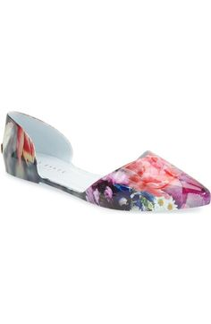 23e9b1b6f70cc6 TED BAKER  Rikyu  Jelly D Orsay Flat (Women).  tedbaker  shoes  flats..  Bought in Vegas. Love.