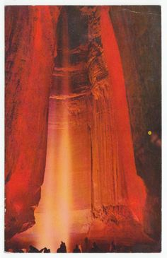 Postcards - United States # 124 - Ruby Falls, Chattanooga, Tennessee