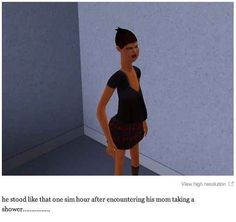 This perfectly valid reaction.   29 Times The Sims Went Horribly, Hilariously Wrong I can't breath..