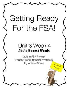 This product was designed to help my students learn a different format of testing besides multiple choice like what Reading Wonders provided us with. I plan to use this format whole group for several weeks until my students are comfortable with it. I plan on scoring it with certain points assigned to different task, with some more than others.