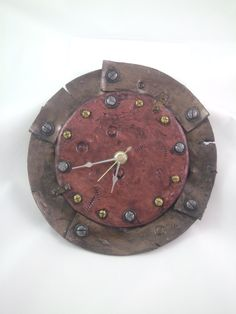 Tick Tock Handmade Clocks is the theme this week to introduce you to our Etsy Team members! Find handmade clocks, and more in these shops! Handmade Clocks, Handmade Home Decor, Door Hanging Decorations, Screws And Bolts, Antique Clocks, Polymer Clay Creations, Air Dry Clay, Ceramic Clay, Sell On Etsy