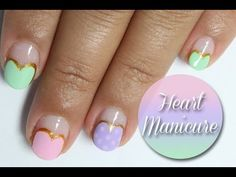 New Nail Art Ideas have been published on Wooden Bling http://blog.woodenbling.com/valentine-heart-manicure-nail-art-tutorial/.  #nailart  #nails #fingernails #Manicure #FashionAccessories #fashion #Fashionstyle #bling #swag