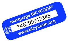 Étiquette Bicycode