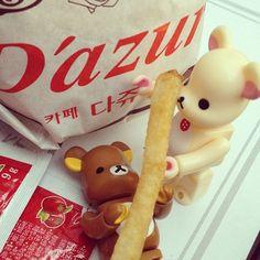 Eat! Eat! Eat! [ #WindKoh #WK #Instagram #Snaplay #Toy #Bearbrick #iPhone #Travel #Korea #Seoul #Food ]
