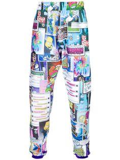 JEREMY SCOTT Collage print sweatpants  $440.48