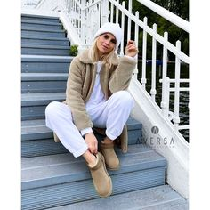 Ugg Boots Outfit, Ugg Classic, Uggs, Brown Suede, Waiting, Women's Fashion, Outfits, Boutique, Simple