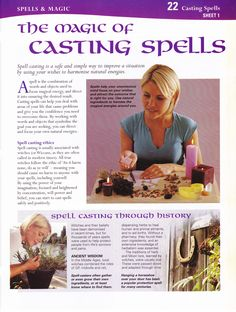 Casting spells  Mind body spirit collection