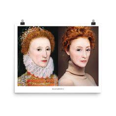 Elizabeth I 16x20 Poster Tudor History Prints Womens | Etsy History Posters, History Quotes, My Bookmarks, Elizabeth I, New Sticker, Classroom Posters, Tudor History, Historical Quotes, Anne Boleyn