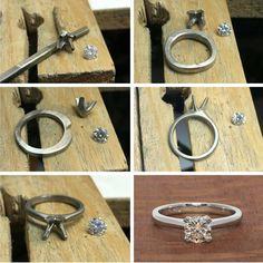 163 отметок «Нравится», 2 комментариев — Harlequin Jewellers  (@harlequinjewellers) в Instagram: «From the workshop creating a solitaire diamond engagement ring. Congratulations on your engagement…»
