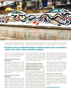 "My Interview in Highlife Magazine Amsterdam Part 4/4 Translated from original interview by Peter van Sparrentak in Dutch   You've recently come back from a tour in Asia where you painted in the streets the rooftop of the Reggae bar  a Japanese hotel and a guesthouse. ""Yes I basically went in Asia for a month and then went back for almost a year. I have been in Thailand Indonesia (Jakarta) Malaysia and Cambodia. On a stop to Bangkok I also painted in Shanghai. In Phnom Penh I painted a lot in…"
