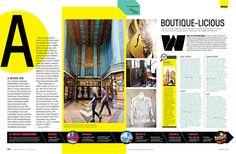 Nice timeline across the bottom Los Angeles Magazine - Carly Jo Creative