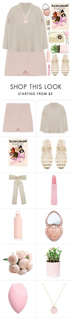 """""""Nayo"""" by majomilk ❤ liked on Polyvore featuring Olympia Le-Tan, Ball Pagès, Forever 21, Too Faced Cosmetics and Ippolita"""