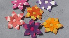 Yün keçe çiçek broş ( wool felt flowers )