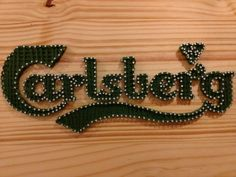 String Art Carlsberg
