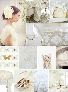 all the many hues of white