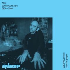 Sunday morning #Soulfulhouse with  Dj Able   @GimmeGroove  8-10am only  on  @RinseFM  Rinse.fm/player #rinsefm