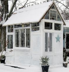 25 of the Most Charming Garden Sheds