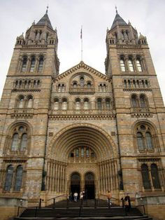 National History Museum. Victorian architecture.