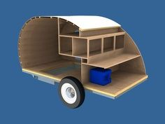 Teardrop Camper kitchens | Camper - Teardrop