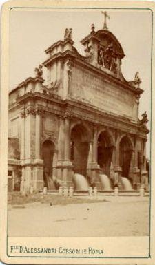 Fratelli D'Alessandri - Roma - Fontana paolina