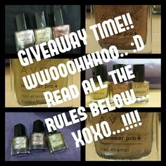 And the giveaway is open!!!  Winners: 2 Prizes: 1st winner: 3 Avon metallic  nail polishes- Rave, Mystic, & Golden vision 2nd winner: surprise gift (I won't reveal it) Giveaway ends: 19th November at 12am   Rules:  1. Follow on instagram: @kannucreative  2. Follow on twitter: @creative_kannu  3. Like facebook page: https://www.facebook.com/kannucreative  4. Share on social networks (not compulsory )  5. Open for Indian residents only 6. Take your parents' permission if you are under 18…
