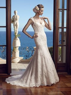 CC's Boutique offers the Casablanca Bridal wedding dress 2195 at a great price. Call today to verify our pricing and availability for the Casablanca Bridal dress 2195 Lace Mermaid Wedding Dress, Bridal Wedding Dresses, Wedding Dress Styles, Bridal Style, Lace Wedding, Bridesmaid Dresses, Wedding Colors, Casablanca Bridal Gowns, Casablanca Dress