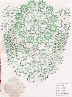 Crochet Potholders, Crochet Doily Patterns, Crochet Mandala, Crochet Diagram, Crochet Doilies, Crochet Flowers, Crochet Lace, Sewing Stitches, Crochet Stitches