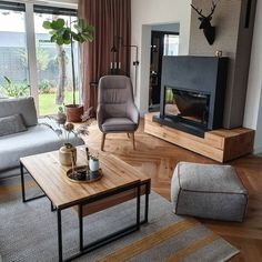 Home Inspiration // Ann Living Decoration Design, Deco Design, Loft Interior, Scandinavian Style Home, Budget Home Decorating, Ceiling Decor, Cool Rooms, Simple House, Home Look
