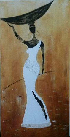 African Art Paintings, African Artwork, Rasta Art, Afrique Art, Black Art Painting, Fleur Design, African Crafts, Batik Art, Modern Canvas Art