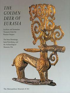 Book Cover, The Golden Deer of Eurasia