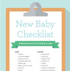One of the most overwhelming tasks for me was figuring out what I needed to  get before my baby arrived.