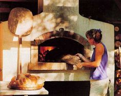 One of the best collections about outdoor pizza ovens. My Dream Kitchen would include an indoor oven, but can see that an outdoor version would be a much simpler build. Outdoor Pizza Oven Kits, Diy Pizza Oven, Outdoor Oven, Pizza Ovens, Outdoor Cooking, Oven Diy, Outdoor Kitchens, Outdoor Fire, Outdoor Rooms