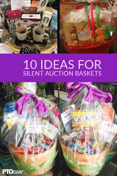 20 Ideas for Theme Baskets for PTOs and PTAs – PTO Today 20 Ideas for Theme Baskets for PTOs and PTAs – PTO Today,Auction Basket Ideas New ideas for your upcoming silent auction! School Auction Baskets, Silent Auction Baskets, Silent Auction Donations, Creative Gift Baskets, Kids Gift Baskets, Theme Baskets, Themed Gift Baskets, Raffle Gift Basket Ideas, Raffle Ideas